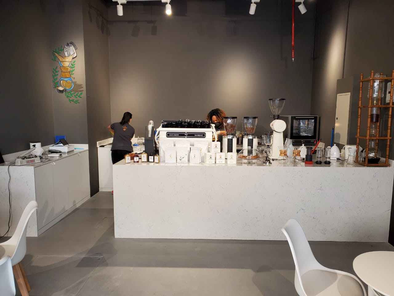 Aurelio Nuovo at Surge Coffee Roasters Sharjah